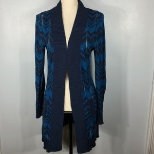 Missoni For Target Blue Cardigan Sweater  Size: S